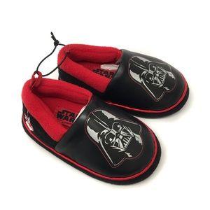 🔴3/$30 Disney Star Wars Darth Vader Slippers